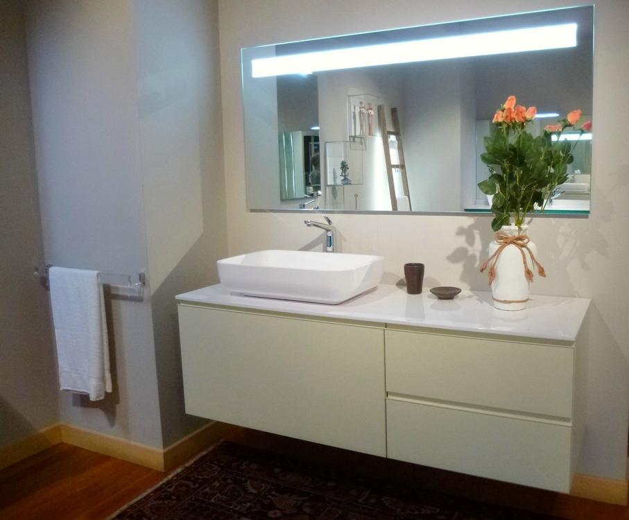 arredo bagno mobile da bagno modello giunone edon in legno laccato canapa piano
