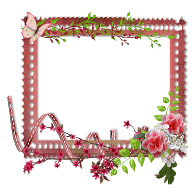 Red Butterfly frame