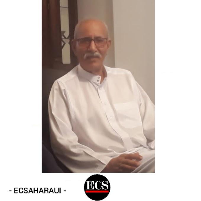 """Brahim Ghali aplaza su regreso a los campamentos saharauis por """"razones protocolarias""""."""
