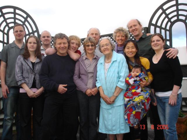 Papa's 83rd Birthday 2005