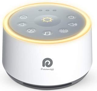 Nice White Noise Sound Machine with Night Light