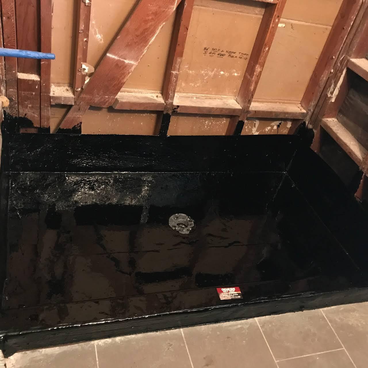 5x3 Hot Mop Shower Pan ..sh.