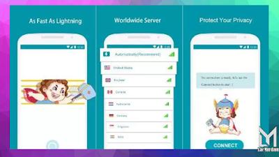 Aplikasi VPN GRATIS TERBAIK Tercepat