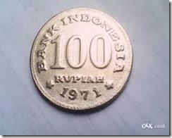 uang 1000 rupiah tahun 1971