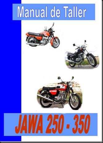 manual, taller jawa 250 350