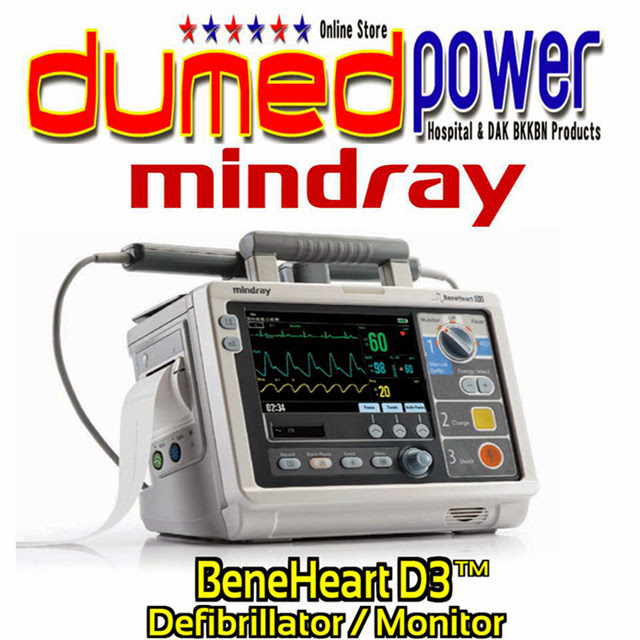 Mindray-Defibrillator-Monitor-BeneHeart-D3-D6-Made-in-China