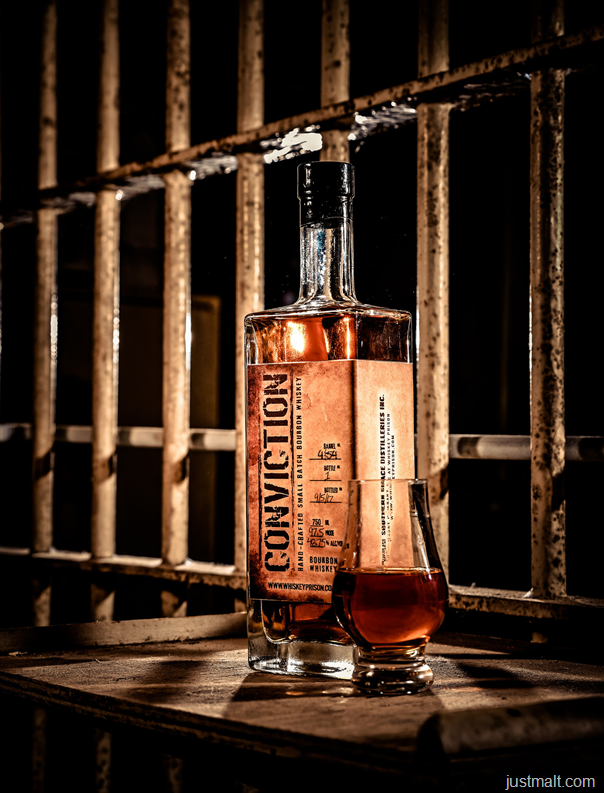 Whiskey Prison Releases First Bourbon: Conviction
