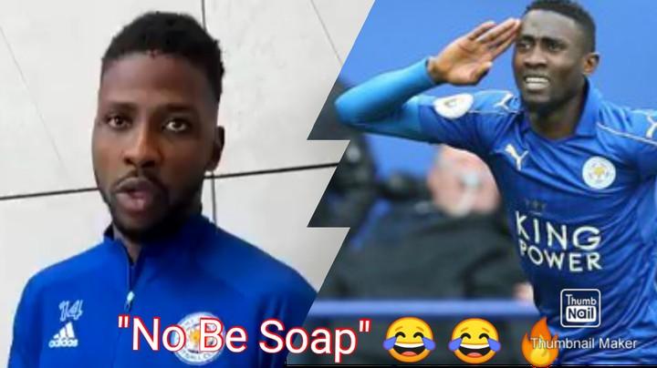 """""""No Be Soap, Na Shower Gel"""" Iheanacho Jokes With Wilfred Ndidi"""