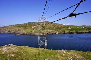 Cable car to Dursey Island. From Driving Ireland's Wild Atlantic Way