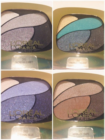 new eyeshadows from loreal