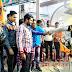 कुलभूषण की माँ-पत्नी से दुर्व्यवहार पर एबीवीपी ने जलाया पाक पीएम का पुतला-झंडा
