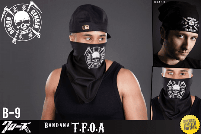 seven domu b09 bandana tfoa 2in1 style 3rd 4th generation