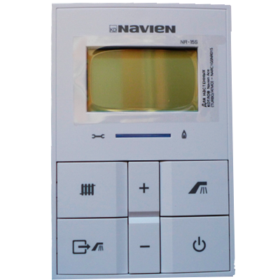 панель управления котлом Navien