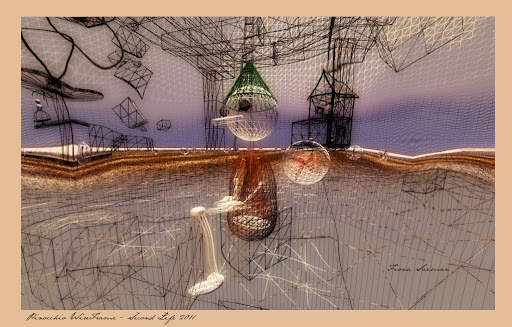 Pinocchio Wireframe