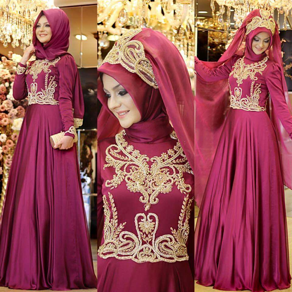 turkish wedding hijab styles 2016