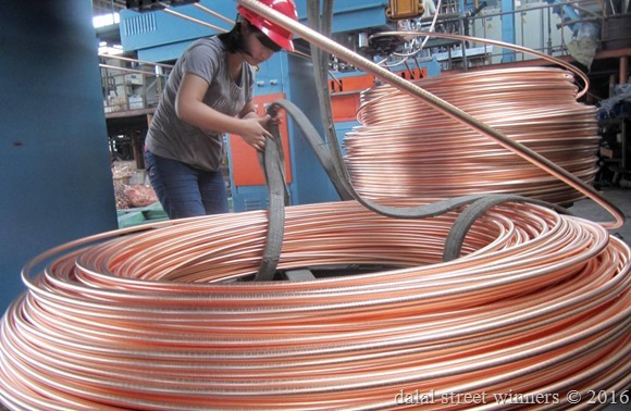 Copper rallied