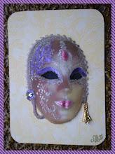 """Photo: """" masque """"  envoyée à Grani ."""