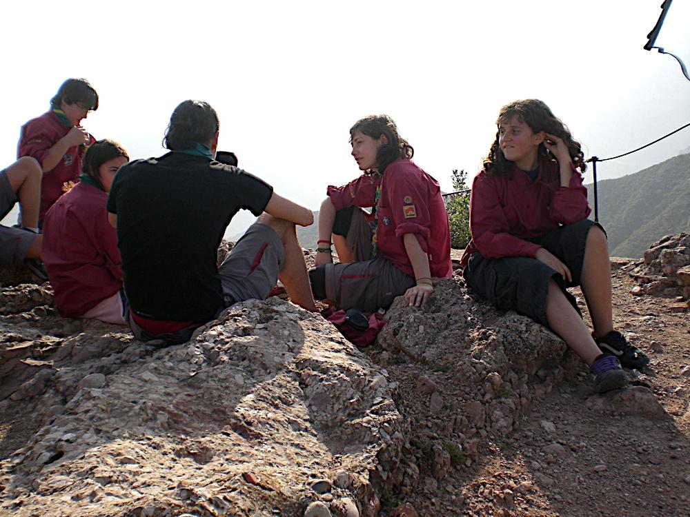 Sortida Sant Salvador de les espasses 2006 - CIMG8298.JPG