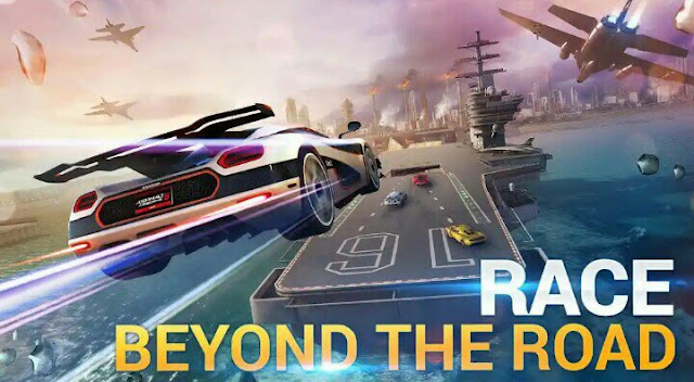Asphalt 8 airborne, android game
