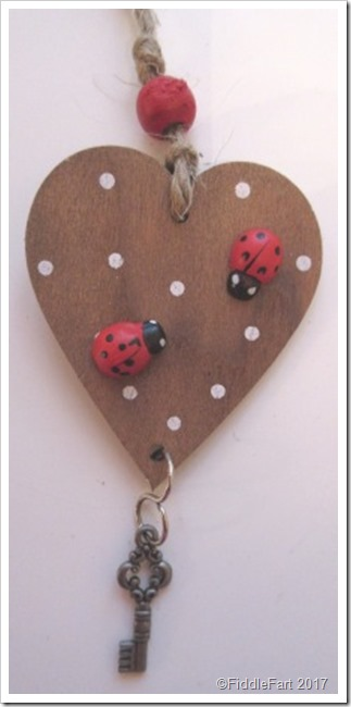 New Home Wooden Gift Tag Ladybird Gift Tag