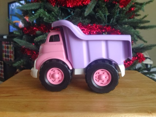 Toys Pink Dump Truck : The proverbs mama green toys dump truck review