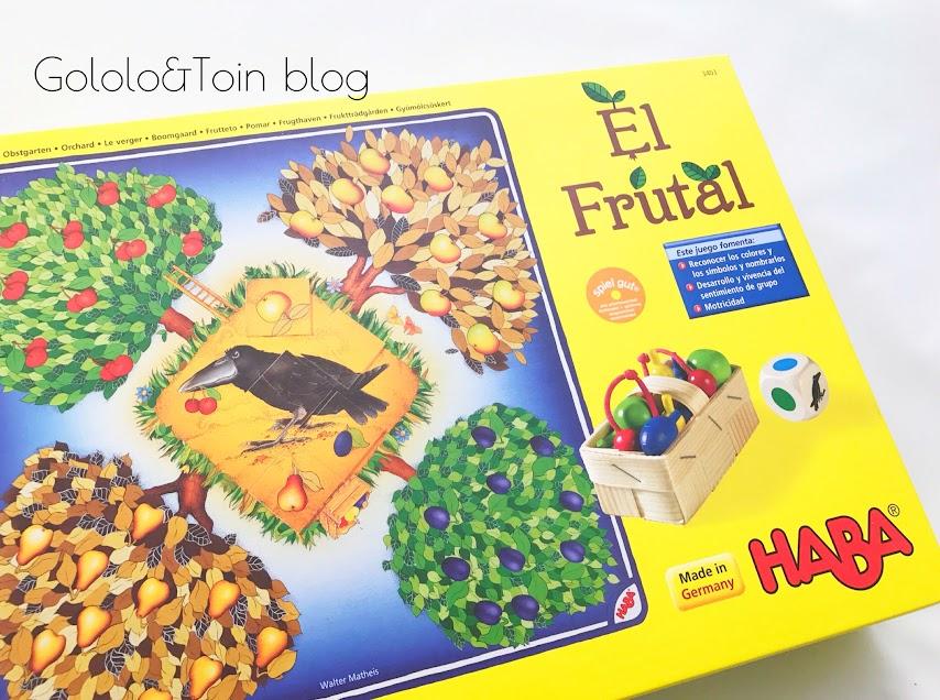 El frutal, juego de mesa colaborativo