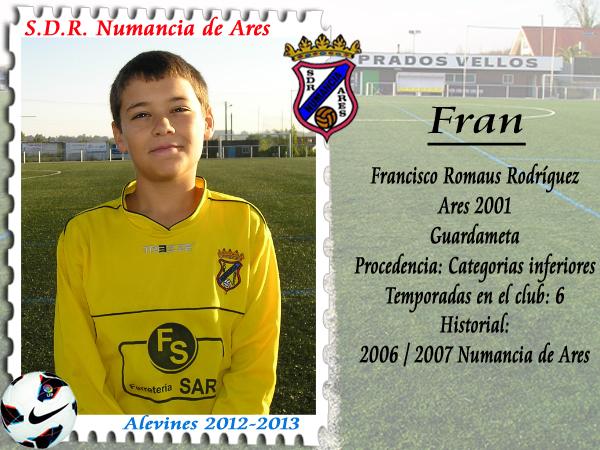 ADR Numancia de Ares. Fran.