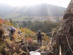 Vue sur la sation de l'Alpe du Grand Serre.