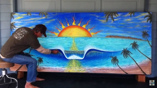 paunting a surf mural tips