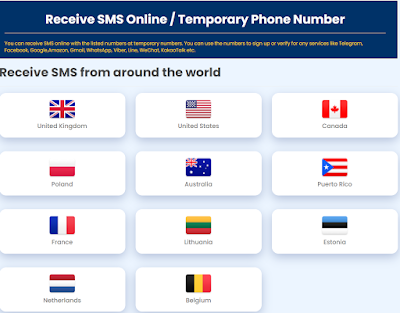 How to Get Free US, UK, Canada, France Virtual Phone Numbers