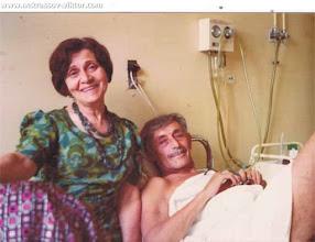 Photo: Виктор и Галина Некрасова. Виктор Платонович чудом выжил после операции. Париж, 1975