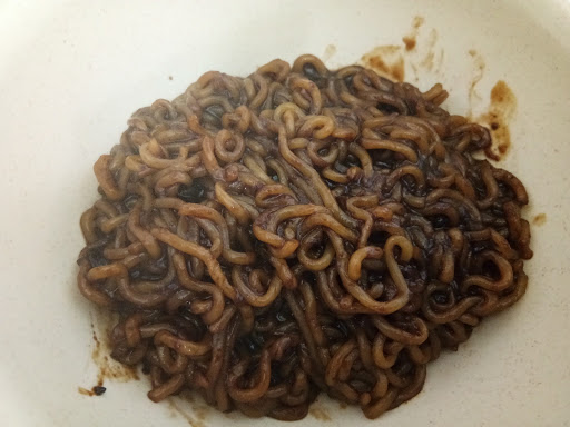 ramen jjajang bean paste mee korea