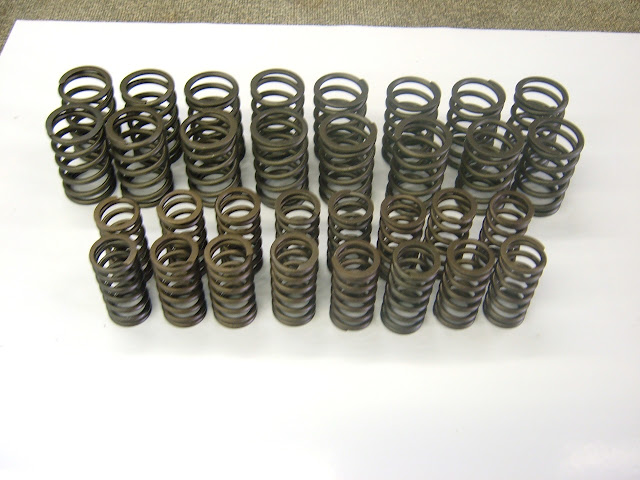 Valve springs, we have many different from stock to hi performance, 128.00, 139.00, 149.00.