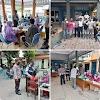 Polsek Ngantru Polres Tulungagung Bersama Koramil 0807/04 Kawal Vaksinasi Lansia dan 12 Tahun Keatas