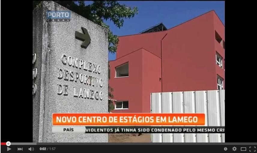 Reportagem Porto Canal - Lamego quer candidatar-se a Cidade Europeia do Desporto