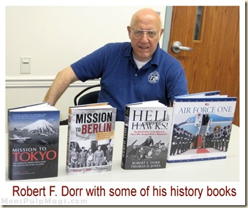 Robert F. Dorr with some of his books pic 2013