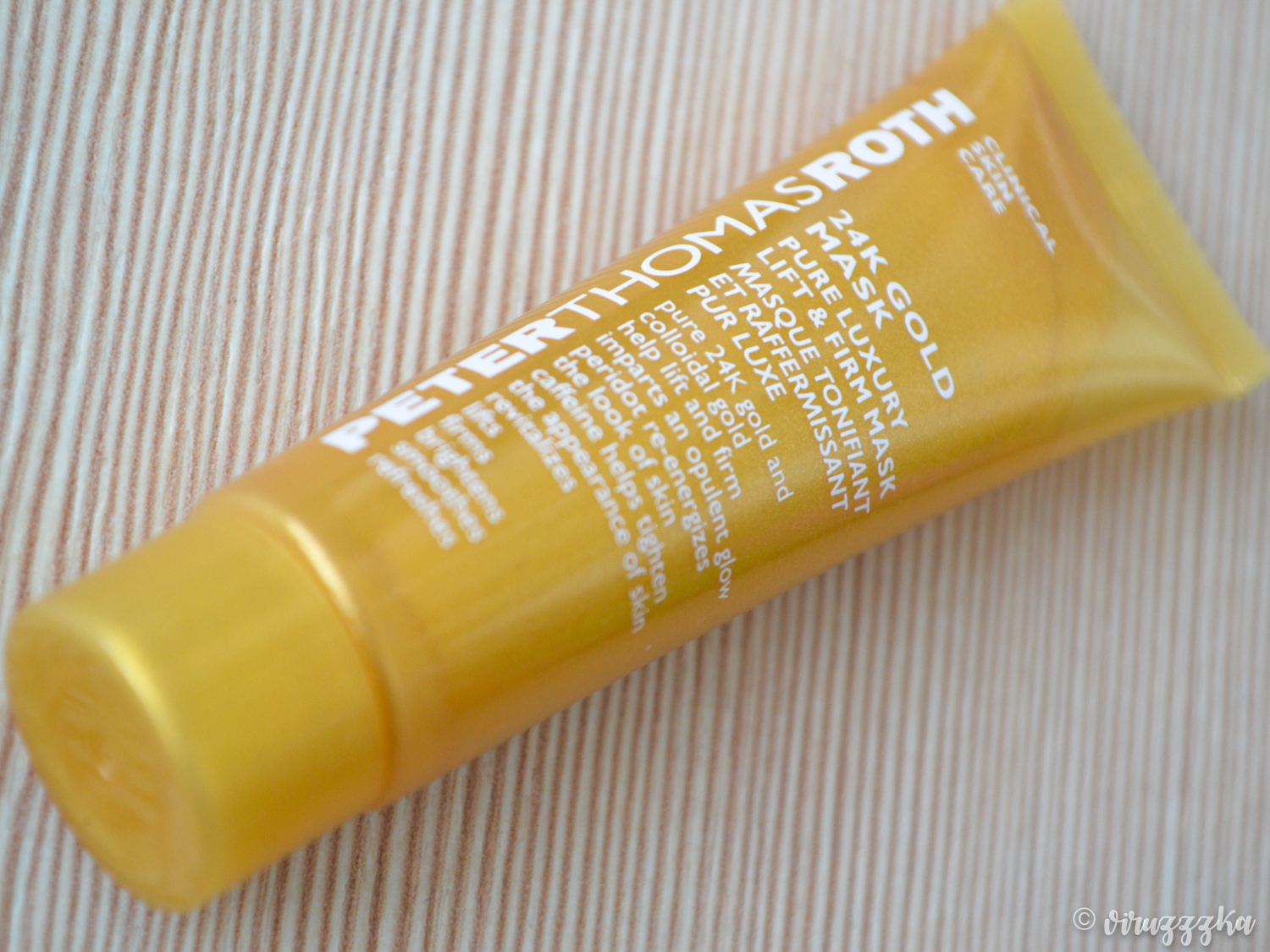 Peter Thomas Roth 24K Gold Mask Pure Luxury Lift & Firm Review