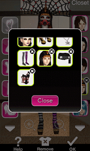Click to Enlarge - Style Me Girl Level 18 - Halloween - Penelope - Closet