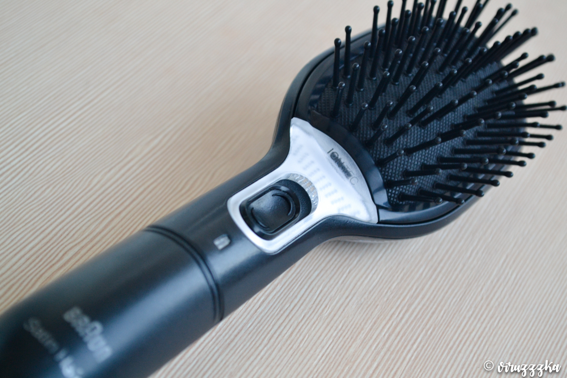 Braun Satin Hair 7 Iontec BR710 Hair Brush Review Before After