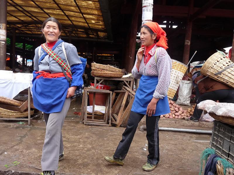 au marché de Lijiang