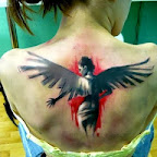 woman angel - tattoo meanings