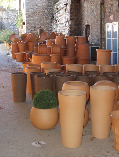 Poterie Ravel French ceramic planters