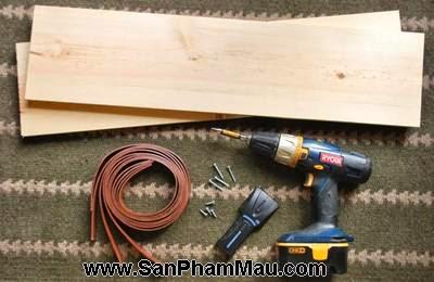 Tự làm kệ treo tường đơn giản nhiều tiện ích-3