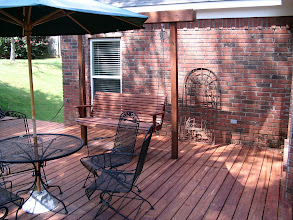 Photo: Deck with swing