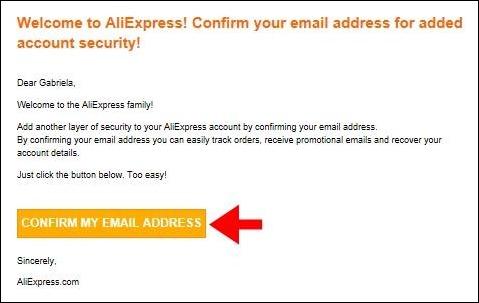 Abrir mi cuenta Aliexpress - 663