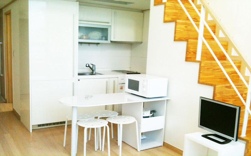 korea seoul house rent short beautiful 14th floor loft house