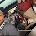 Davido's Daughter, Imade Plays With Bundle Of $100 Bills