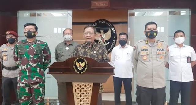 Pernyataan Pemerintah Terkait Perkembangan Situasi di Sigi, Sulawesi Tengah