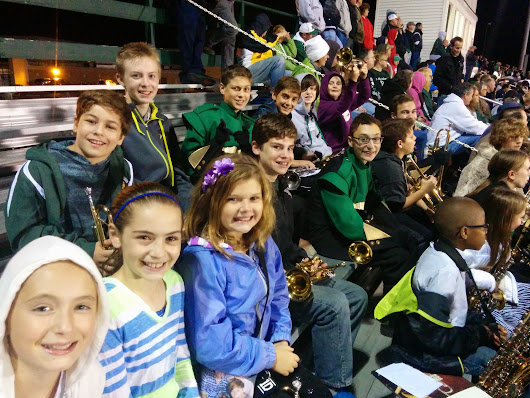 Middle School Band Night 2014