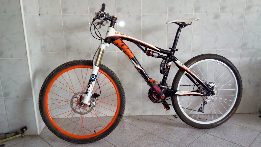 Un cambio de look p gina 34 - Pintar llantas bici ...